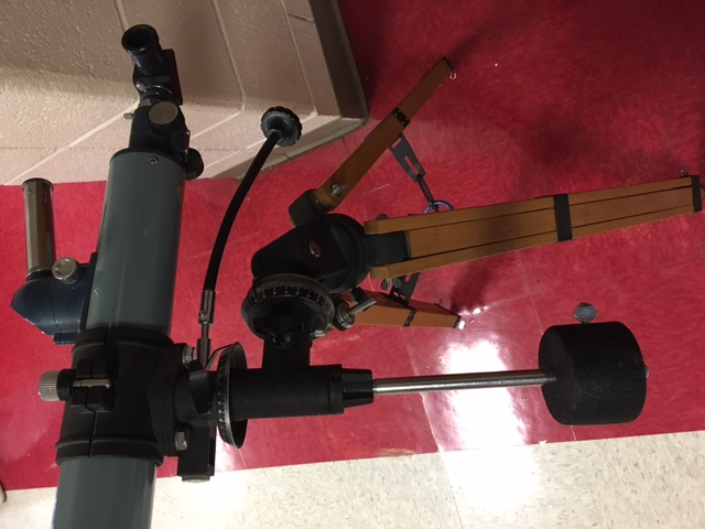 help with donated sears discoverer telescope