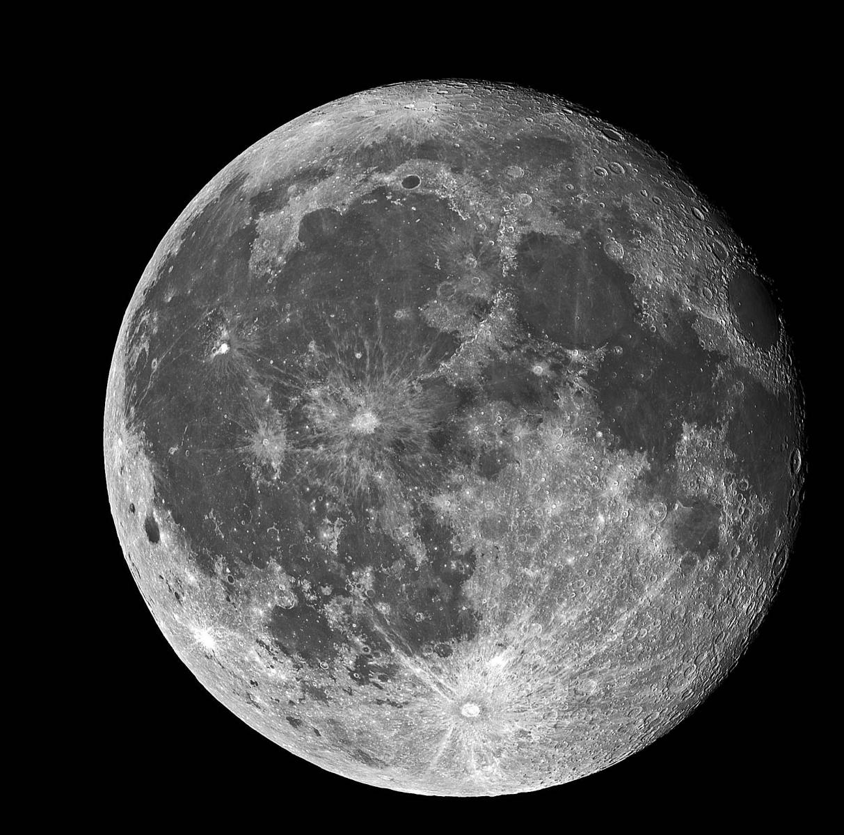 28 August 2018 Waning Gibbous Moon Lunar Observing Cloudy Nights