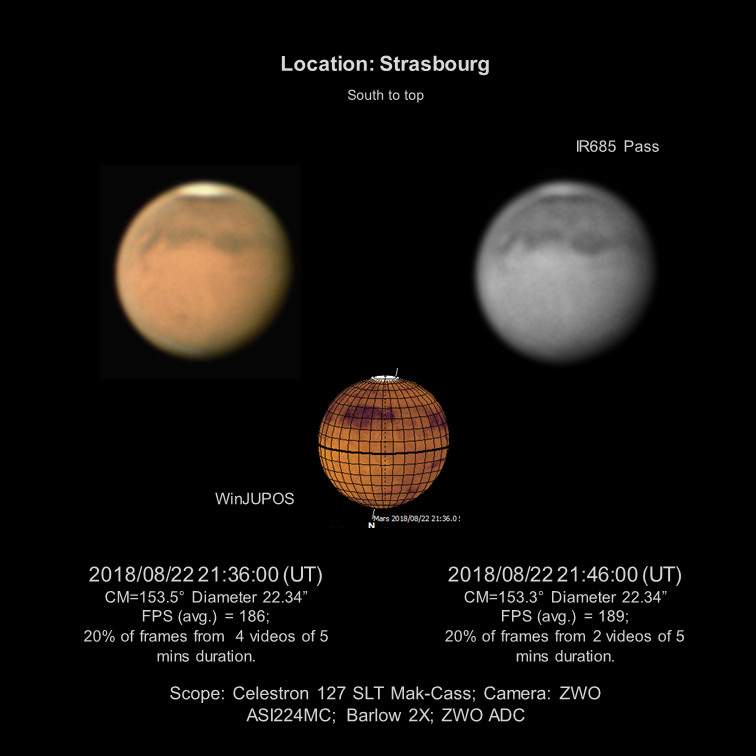 mars 22 aug 2018 missing my c11 but not too much solar system
