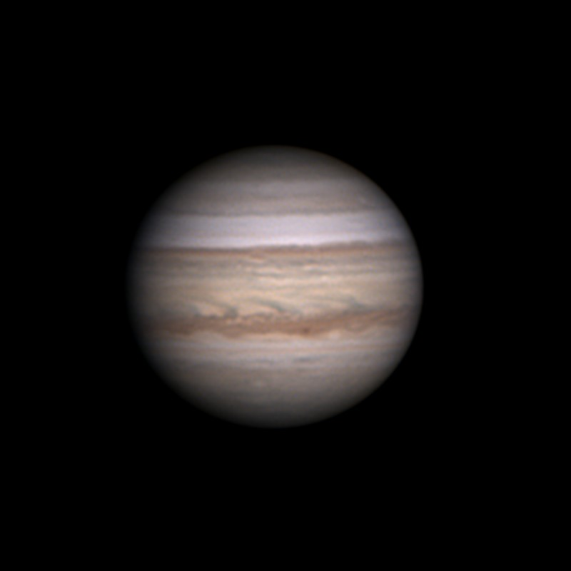 my one image for the night jupiter real low solar system imaging