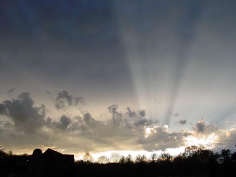 3-24-2010 Sunset Shadows - WEST VIEW DSC00714 sml.JPG
