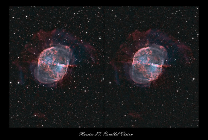 M27 As A Stereo Pair Ccd Cmos Astro Camera Imaging Processing Cloudy Nights