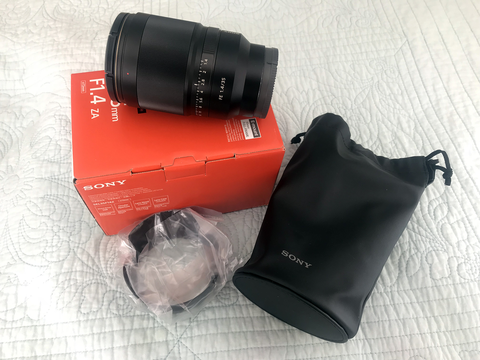 Sony Distagon T Fe 35mm F 14 Za Lens Cn Classifieds Cloudy Nights For Sale