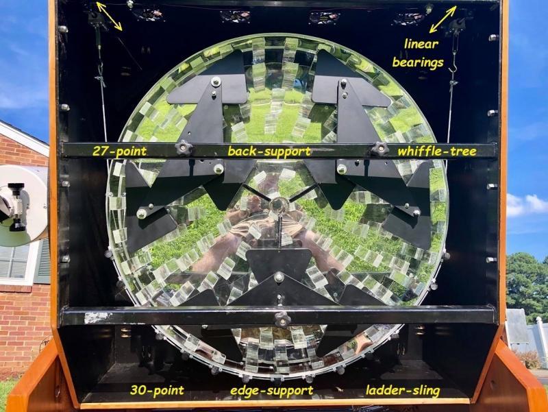 141 36-inch diam x 5-inch thick mirror in Ladder Sling.jpg