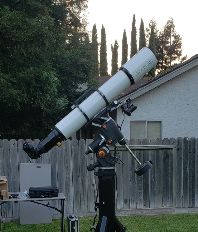 CGEMII with Losmandy Tripod and APM152ED upper view.jpg
