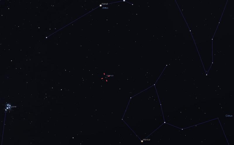 Uranus 10-6-21 Stellarium.JPG