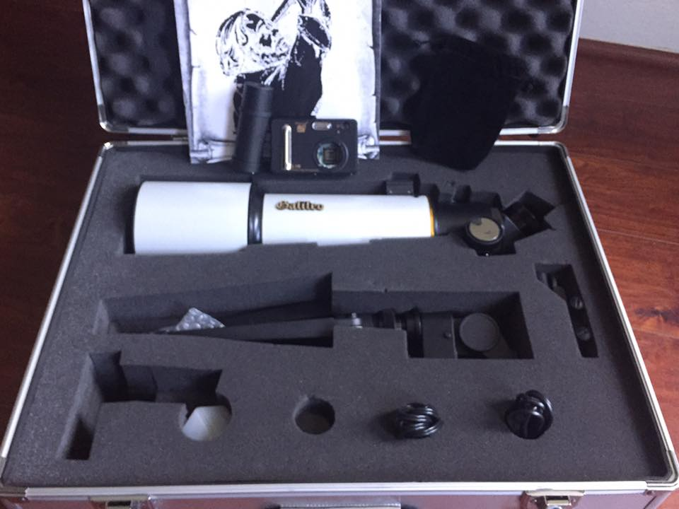 Galileo refractor anyone know anything about this telescope