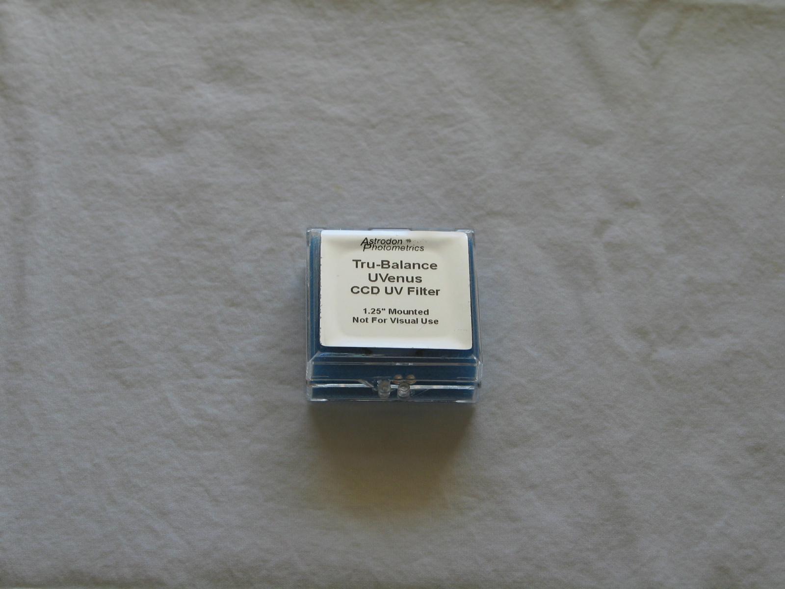Astrodon UVenus UV-Pass Filter 1 25