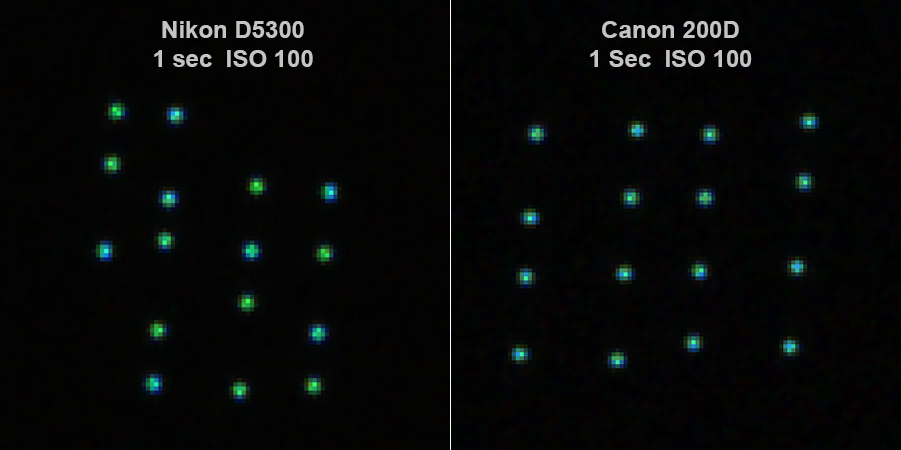 AA filter, spatial filter and star colours - DSLR & Digital Camera