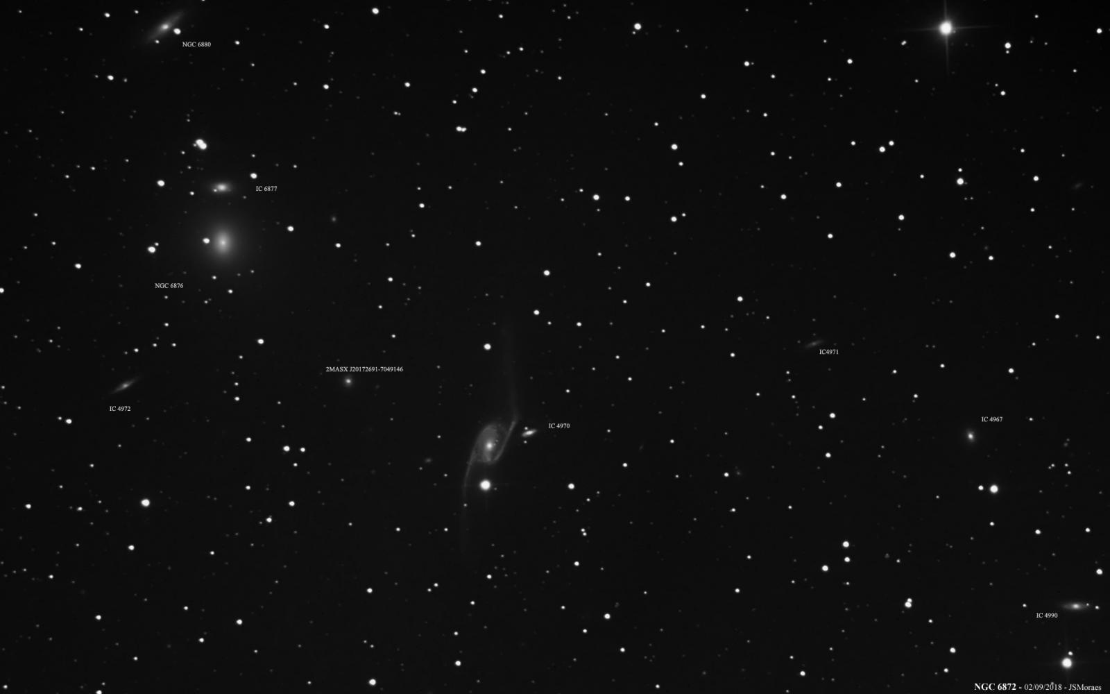 NGC 6872 and Others - CCD/CMOS...