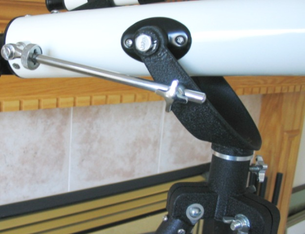 Tripod Yoke Star Shaped Locking Hardware for AZ and ALT.jpg