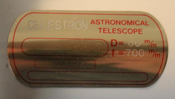 Celestron 60mm Guidescope Label.JPG