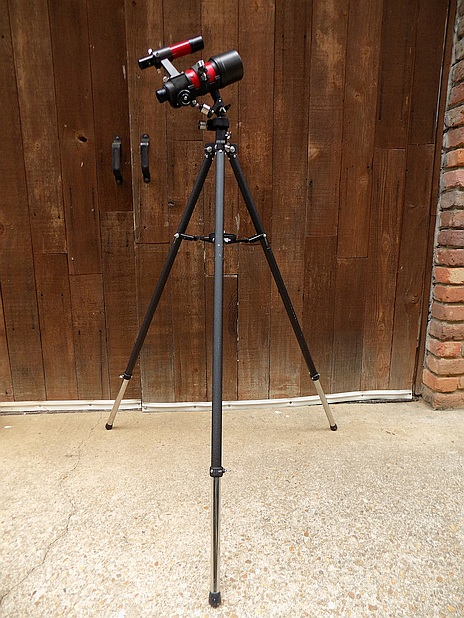 Tasco 9VR on 93T Mount and Tripod S01.jpg