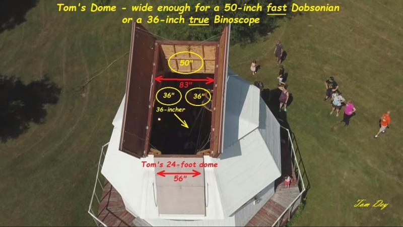 95 Tom's 24-foot dome opening wide enough for 36-inch bino or 50-inch mono.jpg