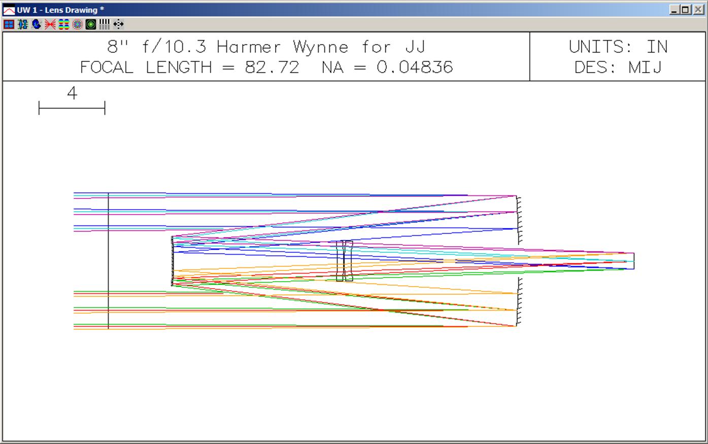 "8"" f/10.3 Harmer-Wynne vs Classical Cassegrain - ATM, Optics and DIY Forum  - Cloudy Nights"