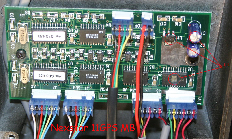 Need Help With A Nexstar 8 Gps