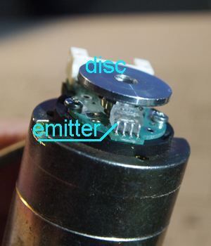 Optical mouse sensor as rotary encoder - Page 2 - ATM