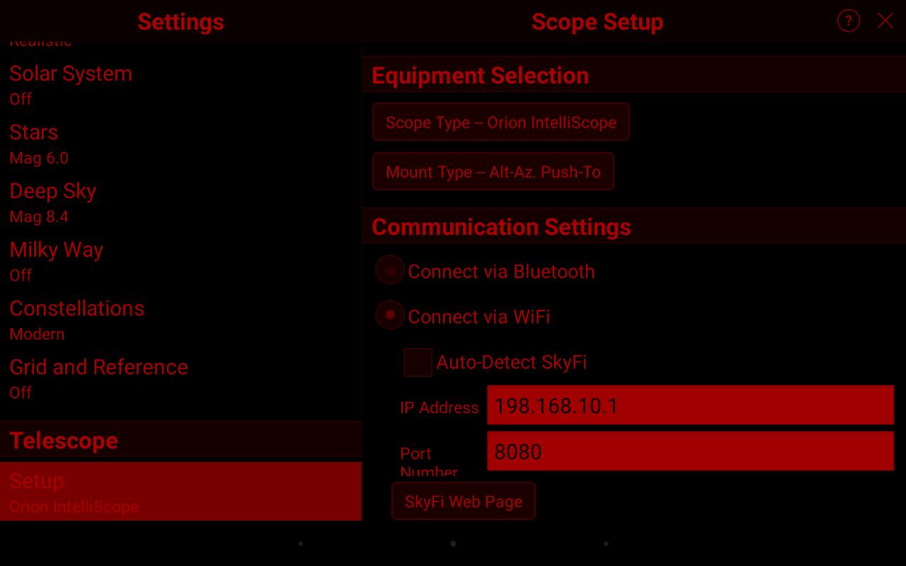 Celestron GPS Series + USConverters Wi-Fi Adapter - Page 4