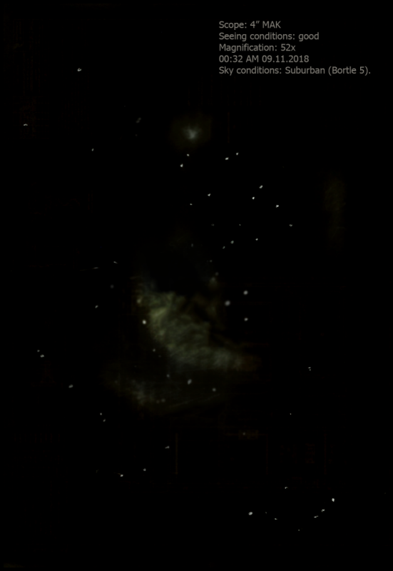 Rosette nebula sketch.png