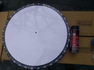 Apertura AZ scale mounted on plate with 3M77 contact glue (320x240).jpg