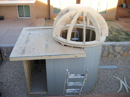 My Backyard Observatory Is Under Way Observatories Cloudy Nights