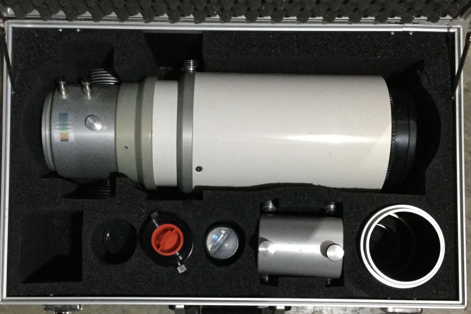 Classic TMB 105 F/6 2 white and gray tube info - Refractors