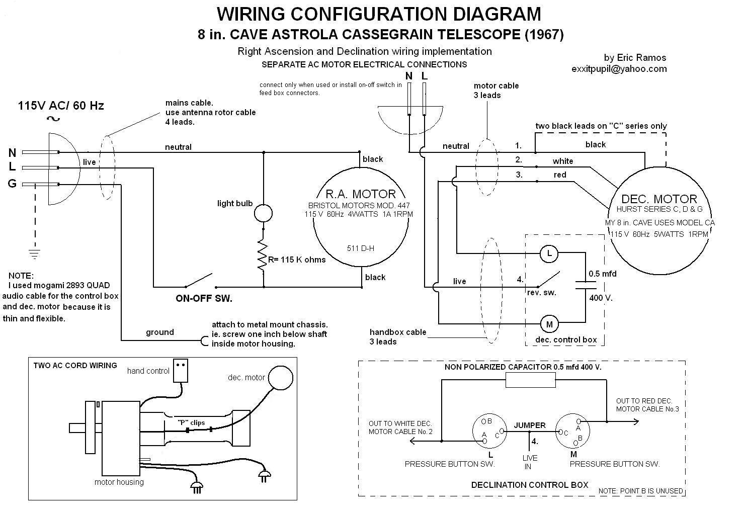 Cave 12 5 Mount - Wiring Question