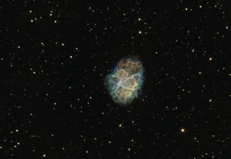 M1 crab nebula at full moon conditions - Experienced Deep