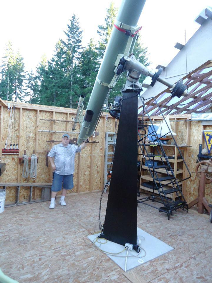 "Building the OTA of my 10""f/16 refractor - last post by rwiederrich"