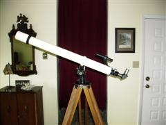 My FIRST telescope, the Edmund 8X Refractor kit - last post by BHunt