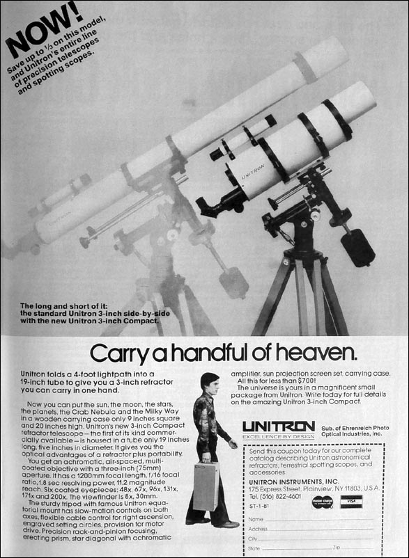 Bausch & Lomb vintage refractor focusers - last post by starman876